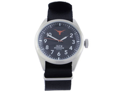 Texas Longhorns Jack Mason Men's Solid Nato Strap Watch