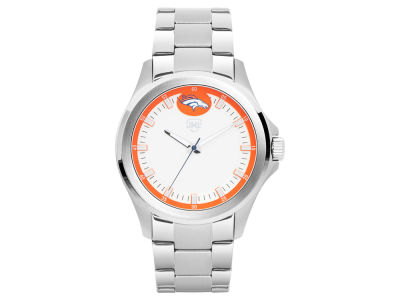 Denver Broncos Jack Mason Men's Silver Sport Watch