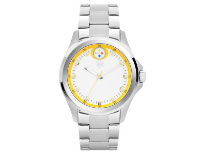 Pittsburgh Steelers Jack Mason Men's Silver Sport Watch
