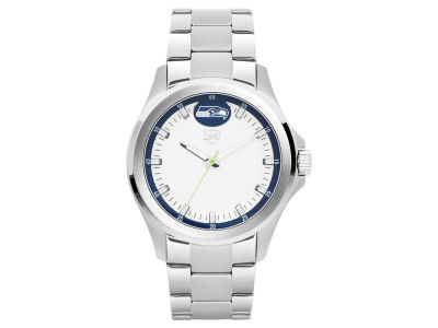 Seattle Seahawks Jack Mason Men's Silver Sport Watch