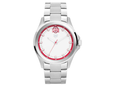Ohio State Buckeyes Jack Mason Men's Silver Sport Watch