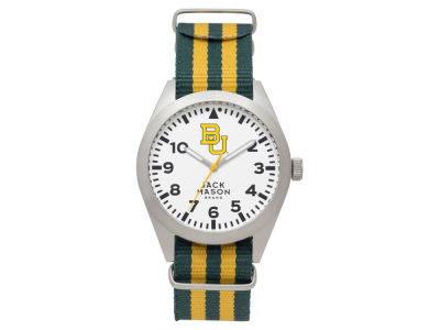 Baylor Bears Jack Mason Men's Striped NATO Strap Watch