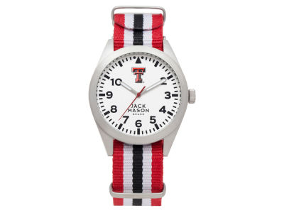 Texas Tech Red Raiders Jack Mason Men's Striped NATO Strap Watch