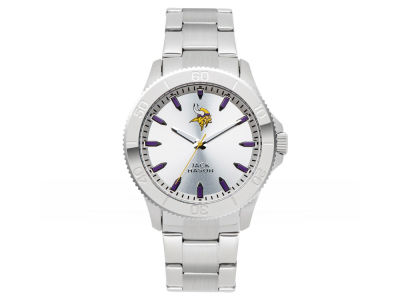 Minnesota Vikings Jack Mason Silver Sport Watch