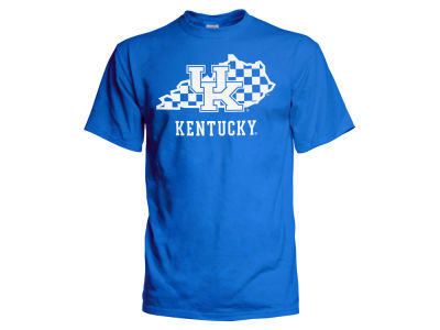 Kentucky Wildcats 2 for $28 J America NCAA Men's Checkerboard State T-Shirt