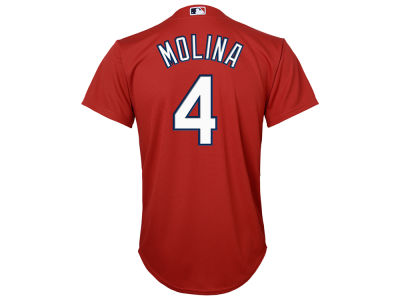 St. Louis Cardinals Yadier Molina Majestic MLB Youth Cool Base Twill Player Jersey