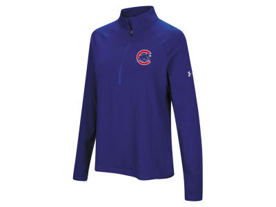 Chicago Cubs Under Armour MLB Women's Passion Half Zip Pullover