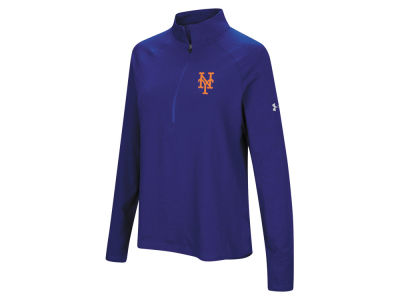 New York Mets Under Armour MLB Women's Passion Half Zip Pullover