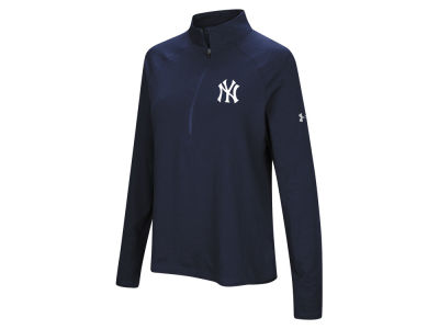 New York Yankees Under Armour MLB Women's Passion Half Zip Pullover