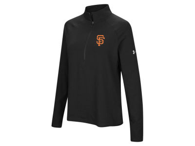 San Francisco Giants Under Armour MLB Women's Passion Half Zip Pullover