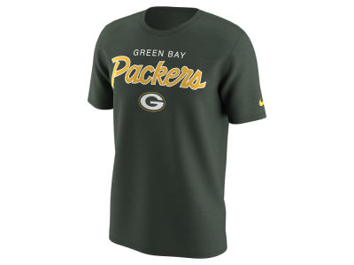 Green Bay Packers Nike NFL Men's Sports Specialty Script T-Shirt