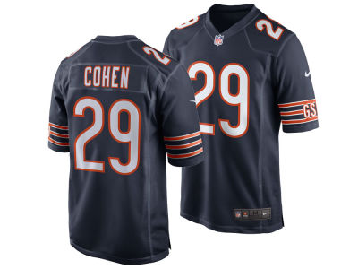 Chicago Bears Tarik Cohen Nike NFL Men's Game Jersey