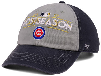 Chicago Cubs '47 2017 MLB Post Season Locker Room Cap