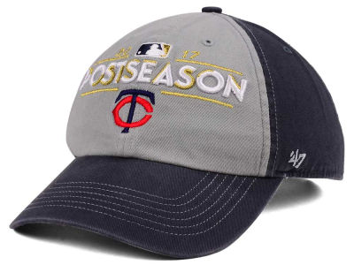 Minnesota Twins '47 2017 MLB Post Season Locker Room Cap