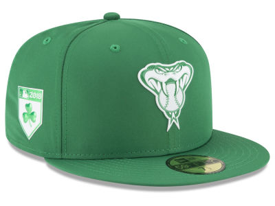 Arizona Diamondbacks New Era 2018 MLB St. Patrick's Day Prolight 59FIFTY Cap