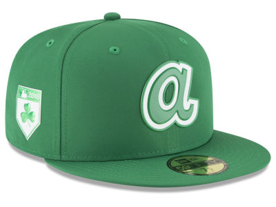 Atlanta Braves New Era 2018 MLB St. Patrick's Day Prolight 59FIFTY Cap