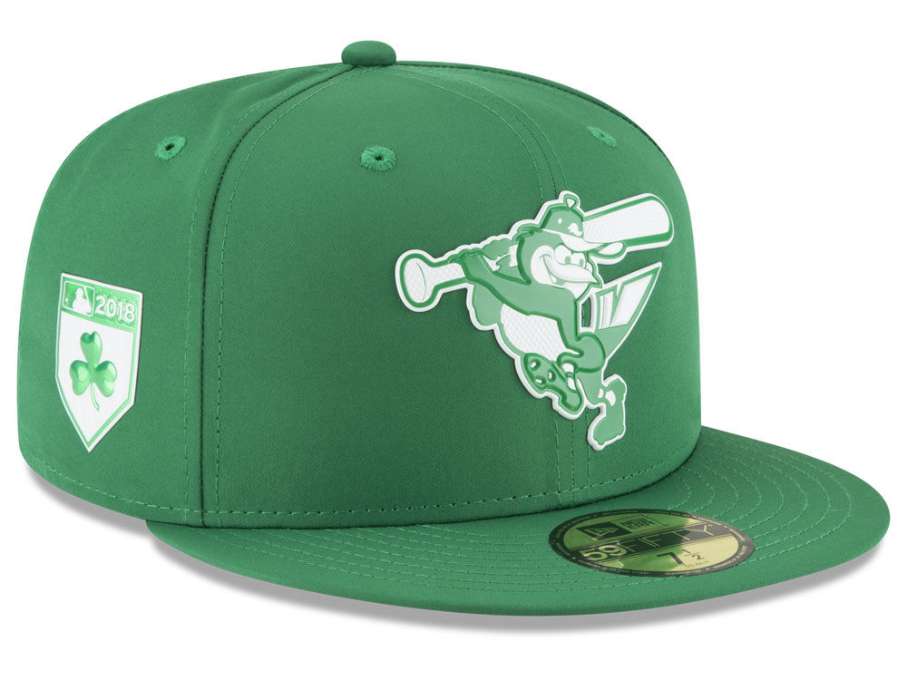 5a4f6f766b9 Baltimore Orioles New Era 2018 MLB St. Patrick s Day Prolight 59FIFTY Cap