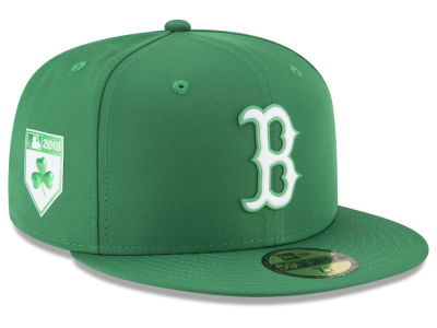 Boston Red Sox New Era 2018 MLB St. Patty's Day Pro Light 59FIFTY Cap