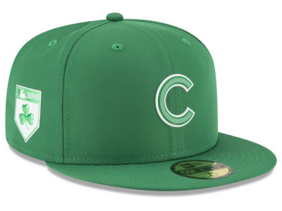 Chicago Cubs New Era 2018 MLB St. Patrick's Day Prolight 59FIFTY Cap