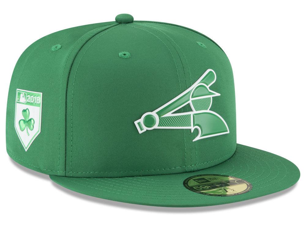 Chicago White Sox New Era 2018 MLB St. Patrick s Day Prolight 59FIFTY Cap  e8c11be04730
