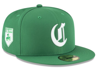 Cincinnati Reds New Era 2018 MLB St. Patrick's Day Prolight 59FIFTY Cap