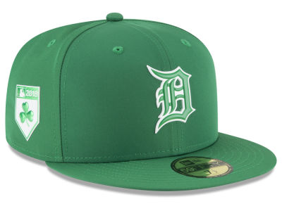 Detroit Tigers New Era 2018 MLB St. Patrick's Day Prolight 59FIFTY Cap