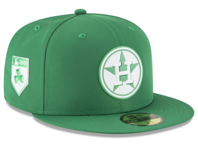 Houston Astros New Era 2018 MLB St. Patrick's Day Prolight 59FIFTY Cap