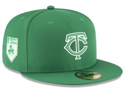 Minnesota Twins New Era 2018 MLB St. Patrick's Day Prolight 59FIFTY Cap