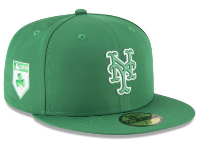 New York Mets New Era 2018 MLB St. Patrick's Day Prolight 59FIFTY Cap