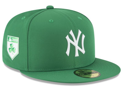 New York Yankees New Era 2018 MLB St. Patrick's Day Prolight 59FIFTY Cap