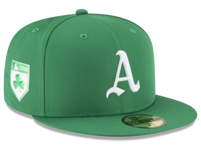Oakland Athletics New Era 2018 MLB St. Patrick's Day Prolight 59FIFTY Cap