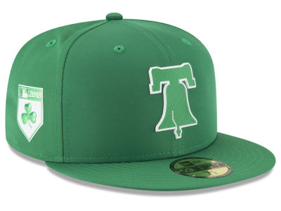 Philadelphia Phillies New Era 2018 MLB St. Patrick's Day Prolight 59FIFTY Cap