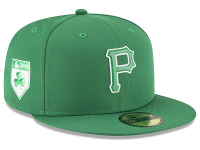 Pittsburgh Pirates New Era 2018 MLB St. Patrick's Day Prolight 59FIFTY Cap