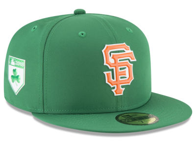San Francisco Giants New Era 2018 MLB St. Patrick's Day Prolight 59FIFTY Cap