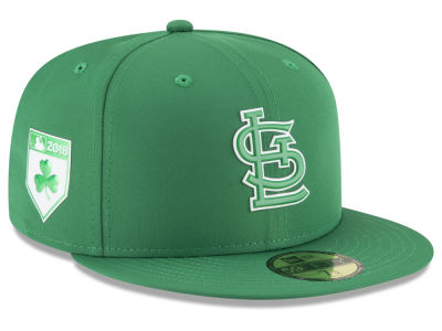 St. Louis Cardinals New Era 2018 MLB St. Patty's Day Pro Light 59FIFTY Cap