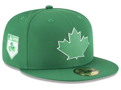 Toronto Blue Jays New Era 2018 MLB St. Patty's Day Pro Light 59FIFTY Cap