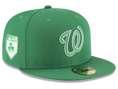 Washington Nationals New Era 2018 MLB St. Patrick's Day Prolight 59FIFTY Cap