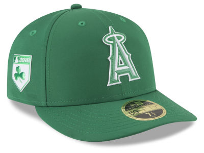 Los Angeles Angels New Era 2018 MLB St. Patrick's Day Prolight Low Crown 59FIFTY Cap