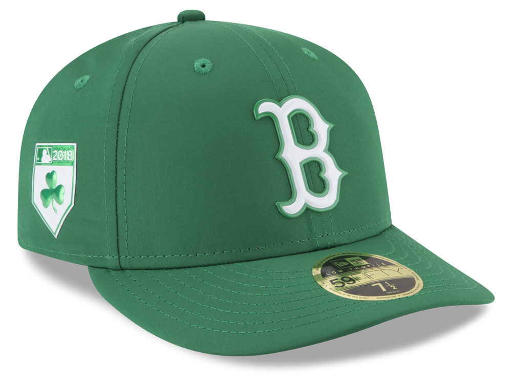 Boston Red Sox New Era 2018 MLB St Patricks Day Prolight Low Crown 59FIFTY Cap