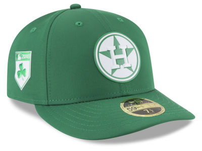 Houston Astros New Era 2018 MLB St. Patrick's Day Prolight Low Crown 59FIFTY Cap
