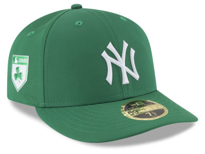 New York Yankees New Era 2018 MLB St. Patrick's Day Prolight Low Crown 59FIFTY Cap
