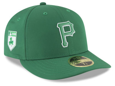 Pittsburgh Pirates New Era 2018 MLB St. Patrick's Day Prolight Low Crown 59FIFTY Cap