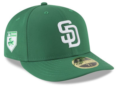 San Diego Padres New Era 2018 MLB St. Patrick's Day Prolight Low Crown 59FIFTY Cap