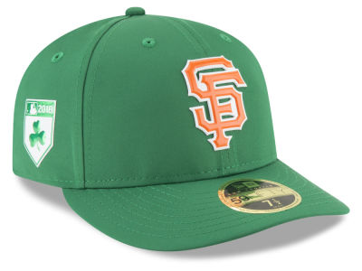 San Francisco Giants New Era 2018 MLB St. Patrick's Day Prolight Low Crown 59FIFTY Cap