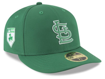 St. Louis Cardinals New Era 2018 MLB St. Patrick's Day Prolight Low Crown 59FIFTY Cap