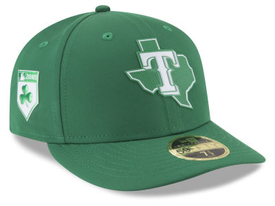 Texas Rangers New Era 2018 MLB St. Patrick's Day Prolight Low Crown 59FIFTY Cap