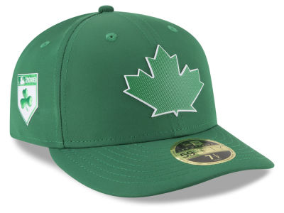 Toronto Blue Jays New Era 2018 MLB St. Patty's Day Pro Light Low Crown 59FIFTY Cap