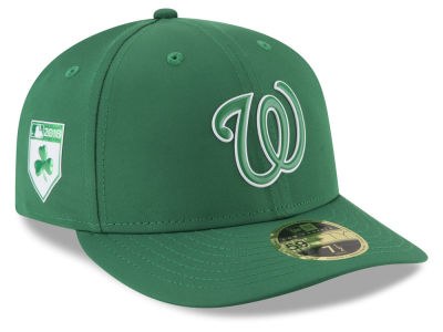 Washington Nationals New Era 2018 MLB St. Patrick's Day Prolight Low Crown 59FIFTY Cap