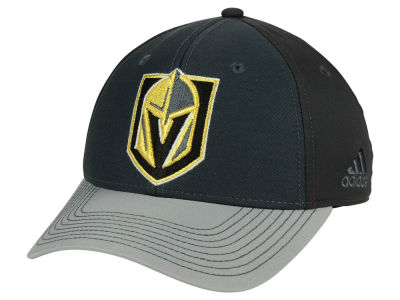 Vegas Golden Knights adidas NHL 2Tone Stitch Flex Cap