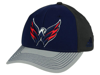 Washington Capitals adidas NHL 2Tone Stitch Flex Cap